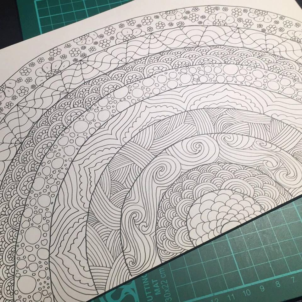 Colouring sheets to colour - Rainbow Adult Colouring Sheet Stress Relief Adults Colouring Sheets Coloring Pages To Colour At