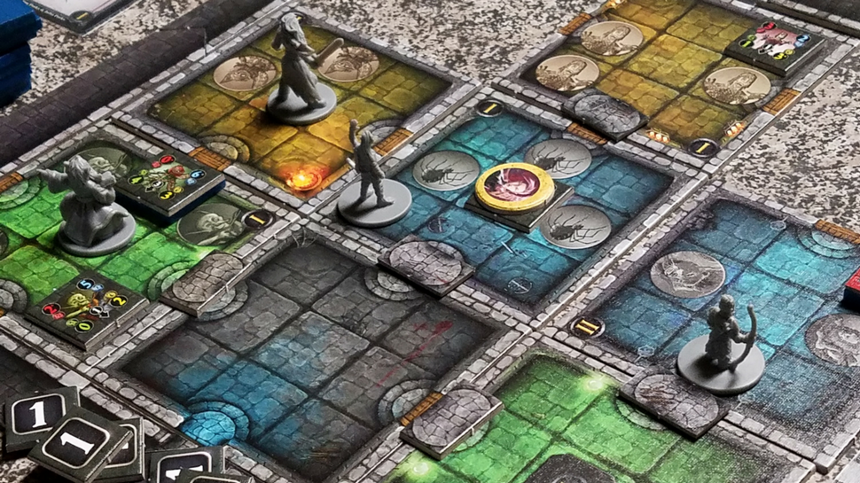 Dungeon Alliance Is A Clever Blend Of Dungeon Crawler And Deck Builder Geek And Sundry Diy Deck Building A Deck Deck Builders
