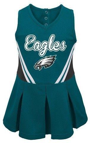 brand new 18905 9ee4b NFL Philadelphia Eagles Toddler Girls' Cheer Dress ...