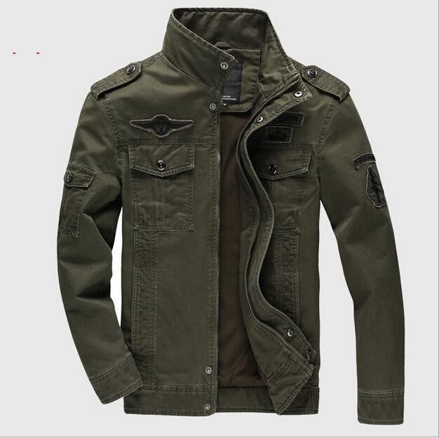 Men Jackets Outerwear Embroidery Mens Jacket for Aeronautica
