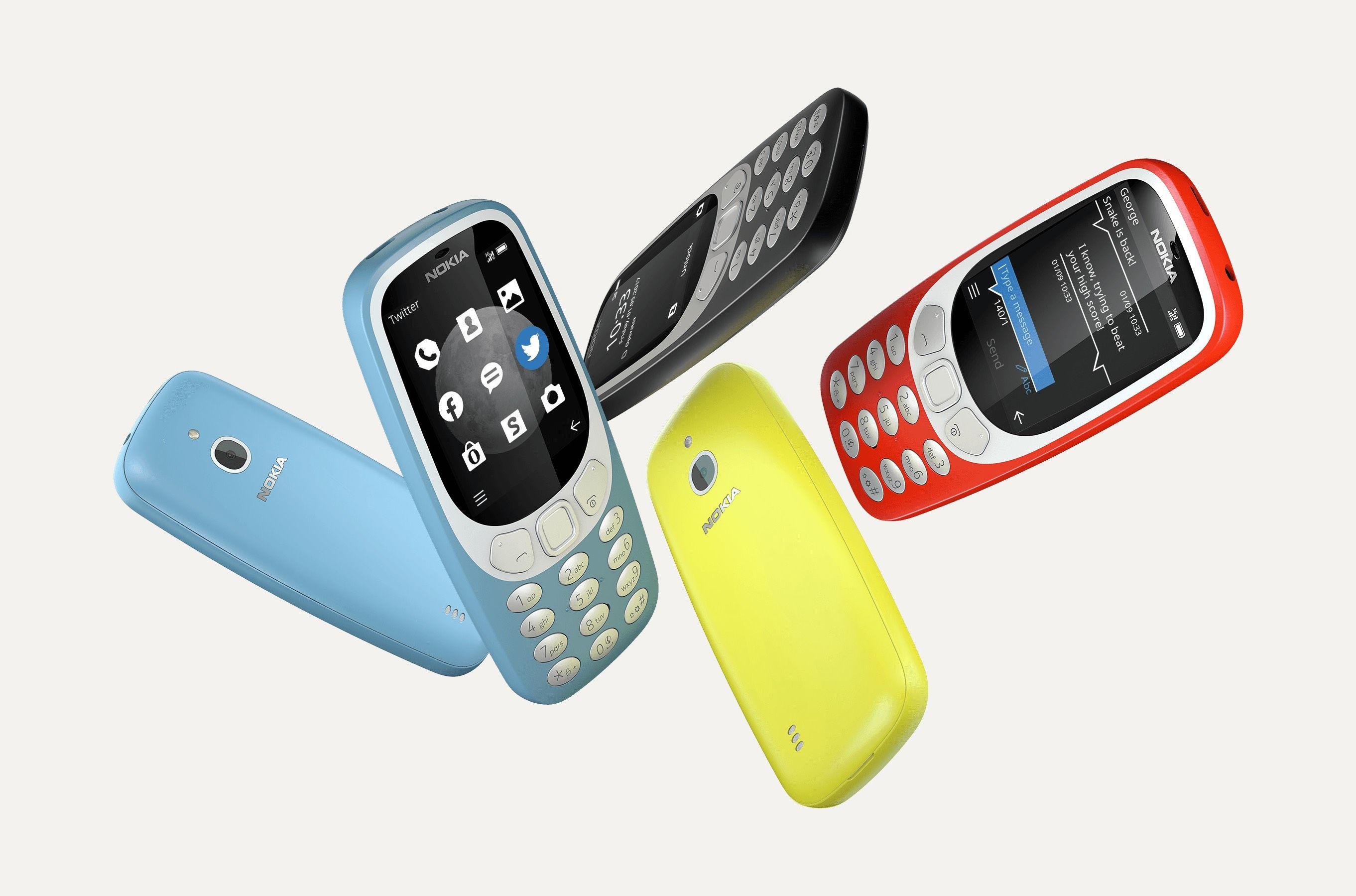 El Nokia 3310 (2017) vuelve con 3G y más memoria, pero