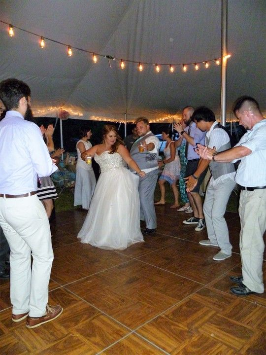 Roy & Carly White Wedding Reception 02 - June 2016. Photos courtesy of Stealth DJ's Mobile Disc Jockey Service of Michigan.