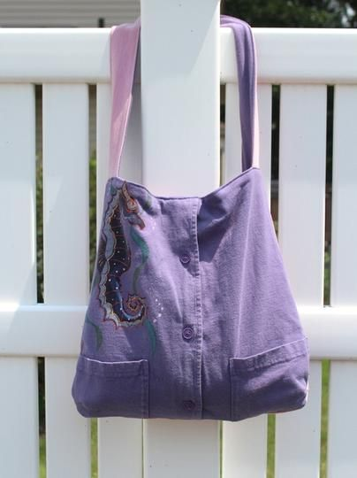 Custom Tote Made from Your Sweatshirt or Jersey by Maiden Jane | Hatch.co