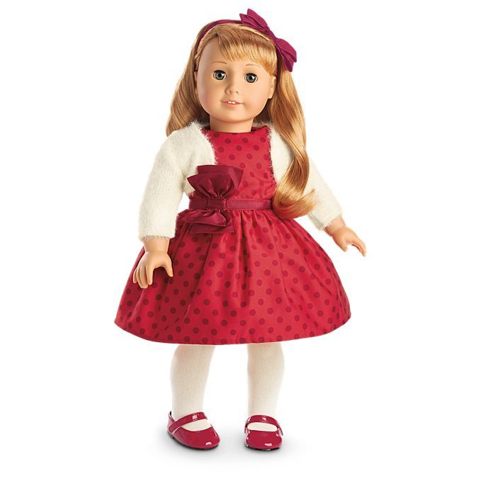 American Girl Maryellen's Christmas Party Outfit for 18-inch Dolls - Maryellen's Christmas Party Outfit For 18-inch Dolls Christmas