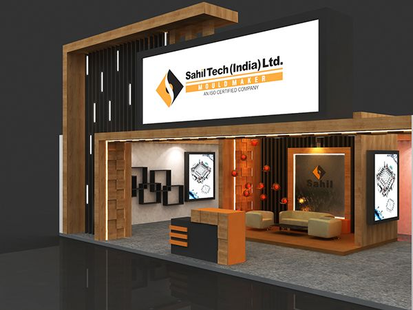 Property Exhibition Booth : Sahil developer property exhibition on behance wax exhibition