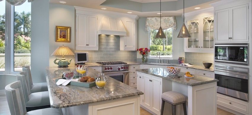 Coastal Kitchen Renovation   Naples, Florida