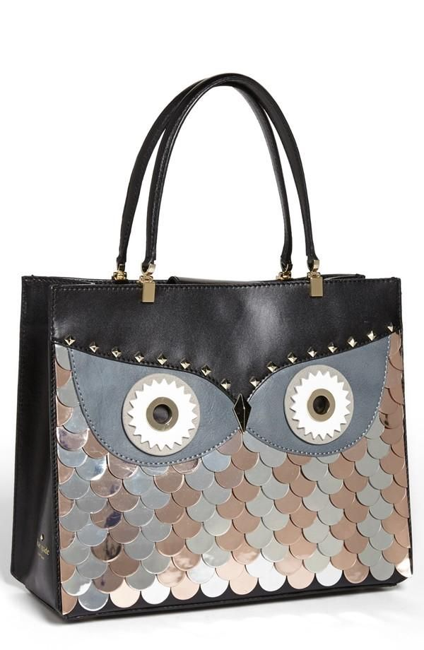 Hoot Kate Spade New York Wise Owl Tote Bags