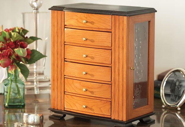 Treasured Chest Build A Jewelry Box Jewelry Box Plans Chest Woodworking Plans Woodworking Projects Diy
