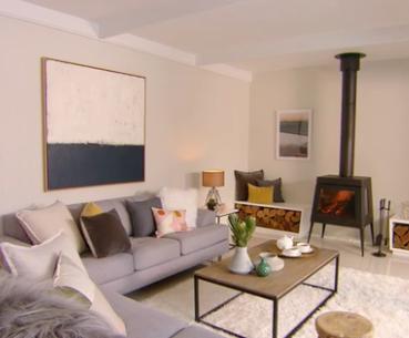 Scandi Living Room Makeover