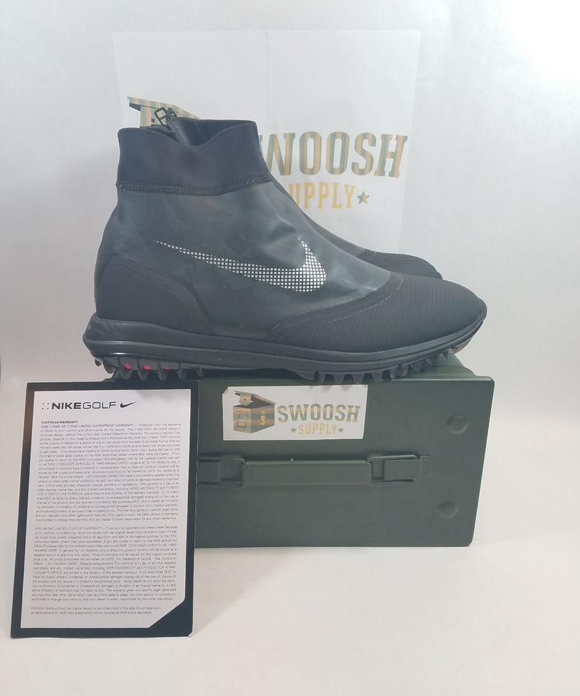 best website 6741c 953cb Nike Lunar VaporStorm Vapor Storm Waterproof Golf Shoes 918622-001 Size 11  Nike GolfShoes