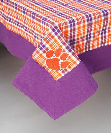 Exceptional Take A Look At This Clemson Tablecloth By Pomegranate Collegiate On #zulily  Today!