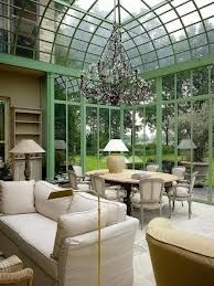 Magnificent conservatory by Luc D'Hulst