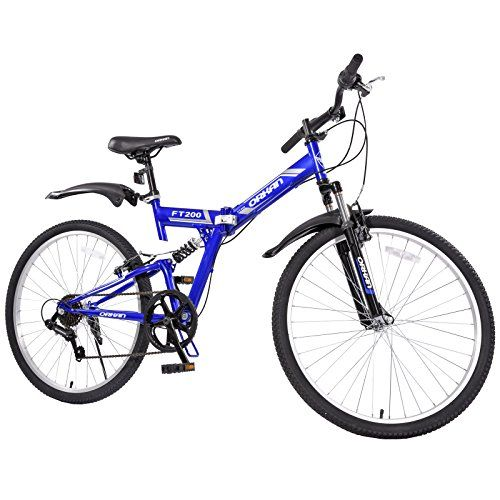 Gtm 26 Folding Mountain Bike 7 Speed Bicycle Shimano Hybrid