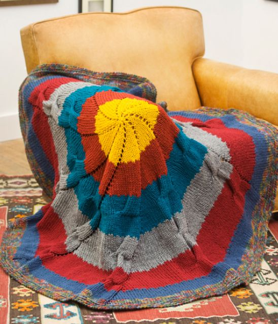 Radiance Knit Throw | Knit afghan patterns, Knitted throws ...