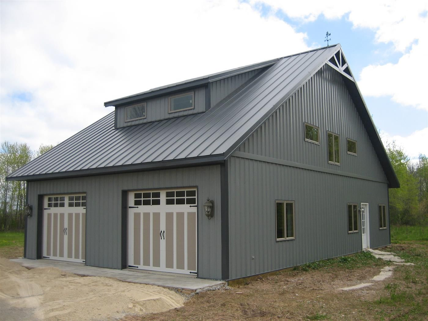 Best A 48 X 32 X 11 Cabin With A Charcoal Gray Roof 400 x 300