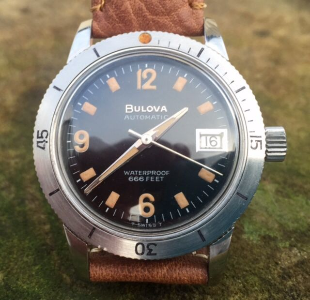 watch sale dive vintage bulova