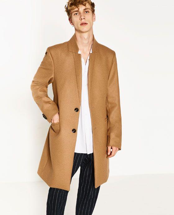 Abrigo zara hombre azul – Artículos populares de moda