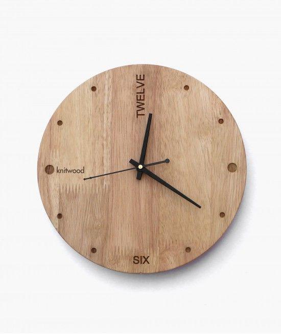 Lapse E Clock Wall Decor Wooden Clock Wood Clocks