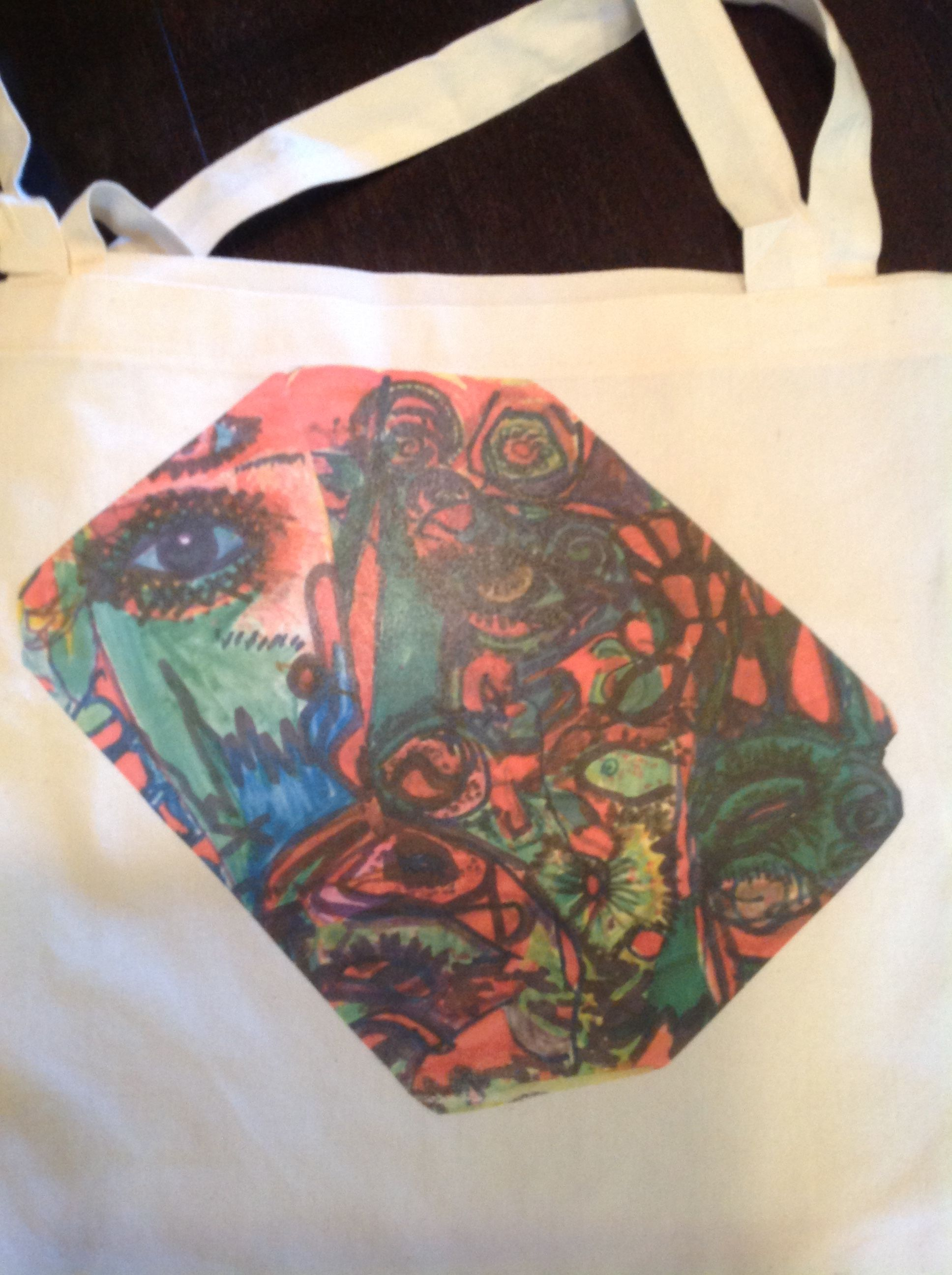 Carnival tote on ETSY!