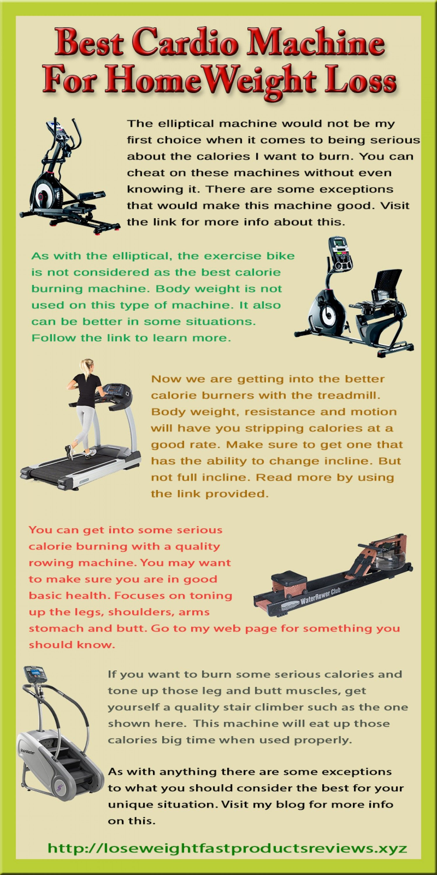 The Best Cardio Machine For Home To Burn Calories --shared by ...