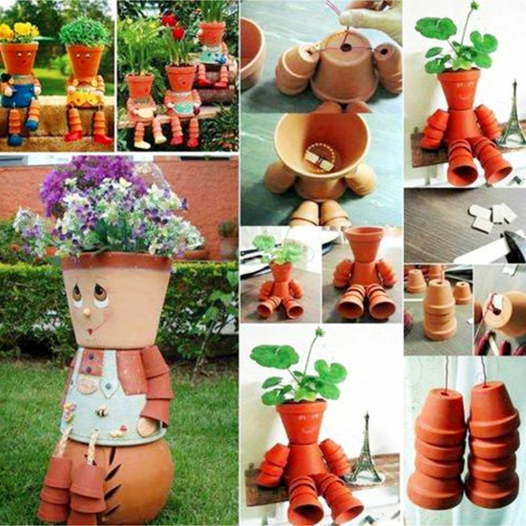 Ideas For Clay Pots Decorating Flower We Love