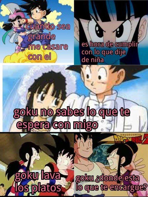 Memes De Dragon Ball Z Que Te Haran Reir Si Eres Fan Taringa Dbz Memes Geek Humor Dragon Ball Image