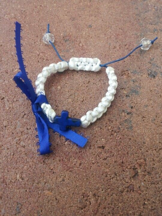 Martyrika bracelet with blue cross