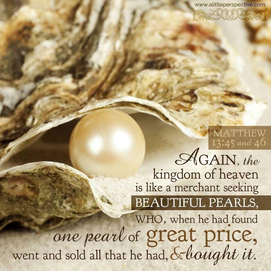 Matthew 13:45-46   ✽ Women of Faith      Scripture pictures