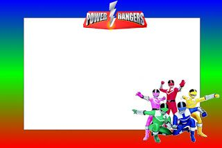 Power Rangers Free Printable Invitations Ranger Birthday Party