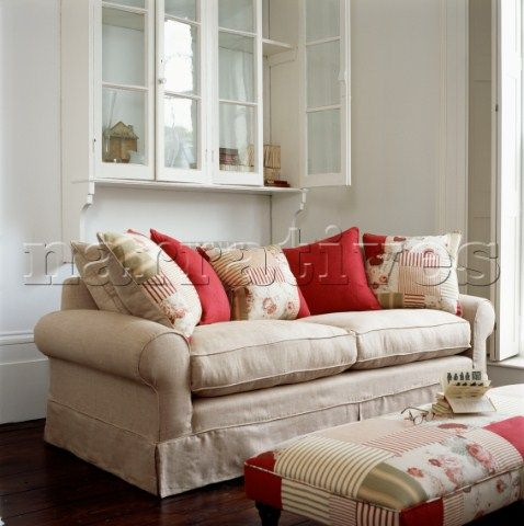Cream Sofa Cushions