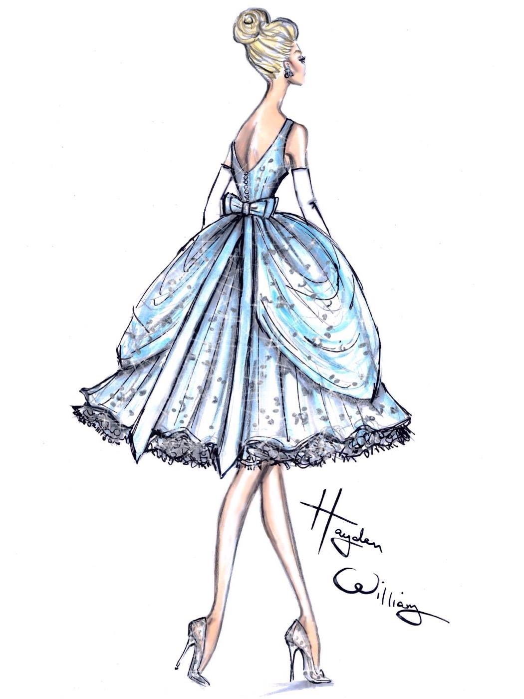 Disney Fashion Sketches Dresses