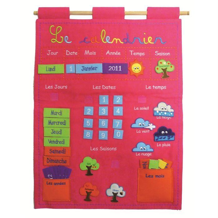 ludi panneau calendrier basic rose calendrier du jour calendrier de et calendrier. Black Bedroom Furniture Sets. Home Design Ideas