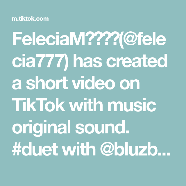 Feleciam Felecia777 Has Created A Short Video On Tiktok With Music Original Sound Duet With Bluzbluzbluz Fyp D In 2021 Akatsuki Music Beauty And The Beast