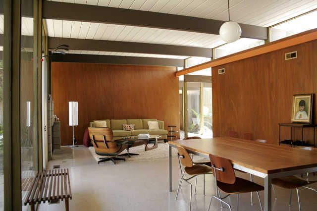 My dream Mid Century Modern Ranch Home will have a room just like this!