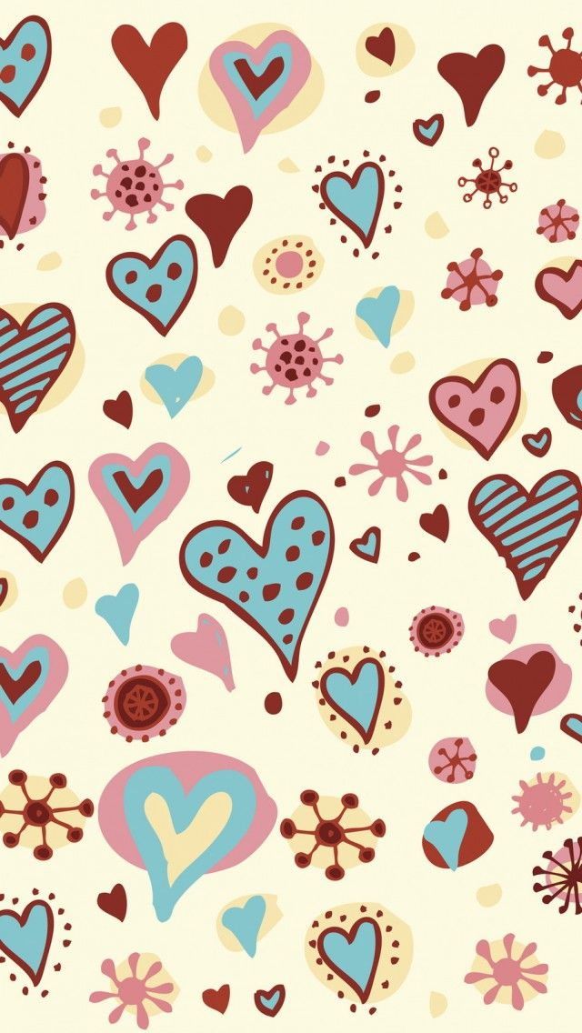 valentine wallpaper iphone valentines day hearts textures iphone 5s wallpaper 13216