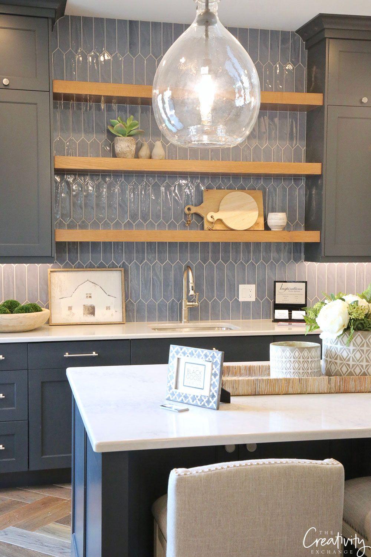 Navy Tile Trend Alert Kitchen Design Kitchen Backsplash