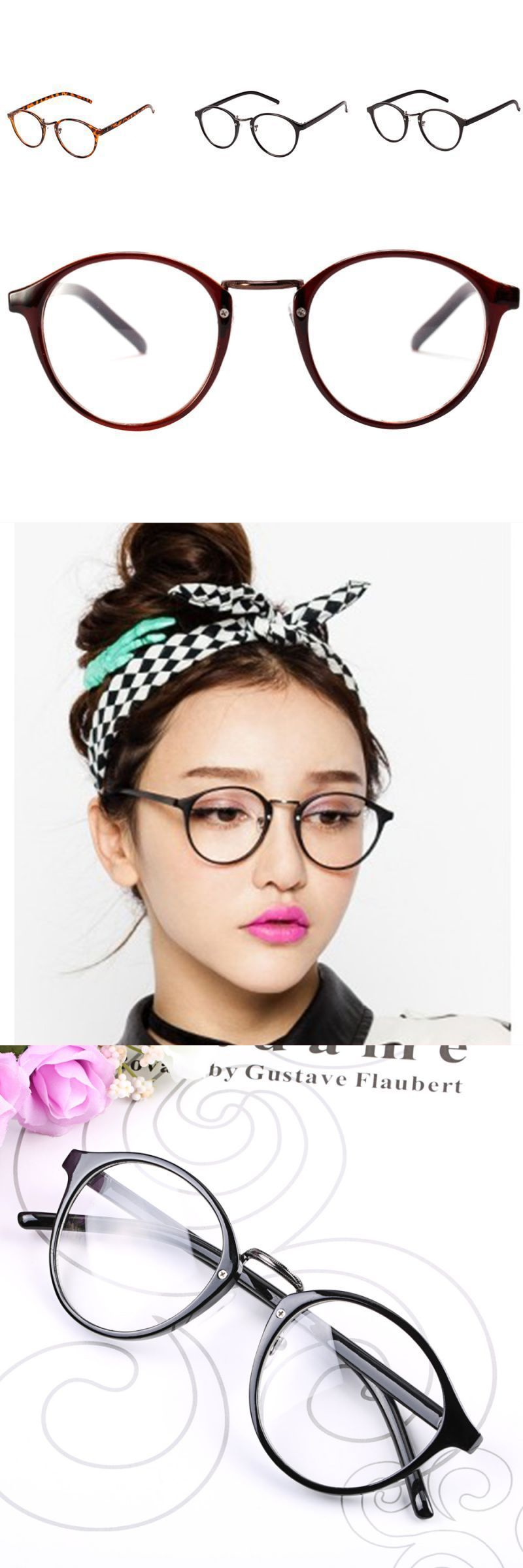 493b8792a96 Hot sell mens womens vintage nerd glasses clear lens eyewear unisex retro  plain clear eyeglasses spectacles 4colors  eyewear  accessories  frames   solid ...