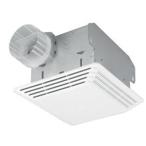Broan 80 Cfm White Ceiling Mount Ventilation Fan 684 At The Home Depot 11 Bathroom Fan Light Bathroom Exhaust Fan Bathroom Fan
