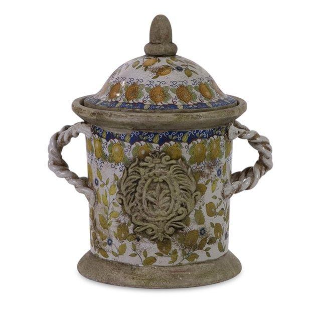 Florentine Lidded Jar