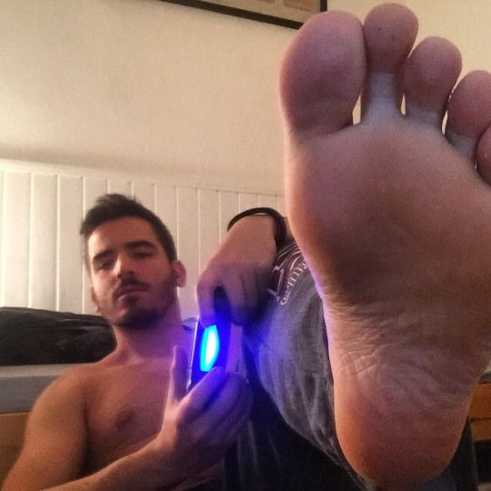 Gay men feet fetish