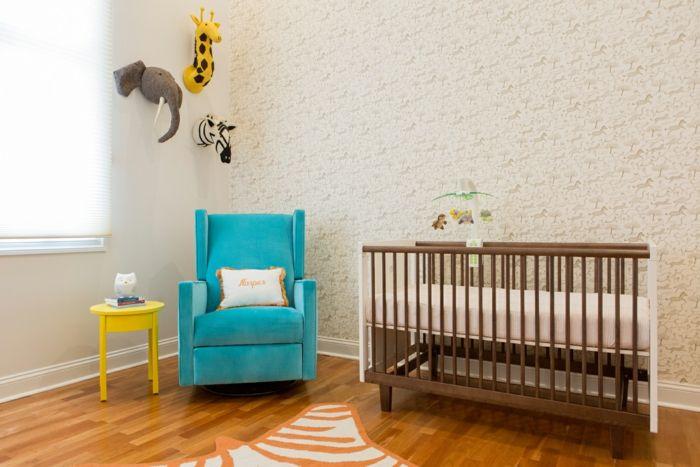 Kleines Babyzimmer ~ Kleines babyzimmer gestalten modernes faltbares gitterbett