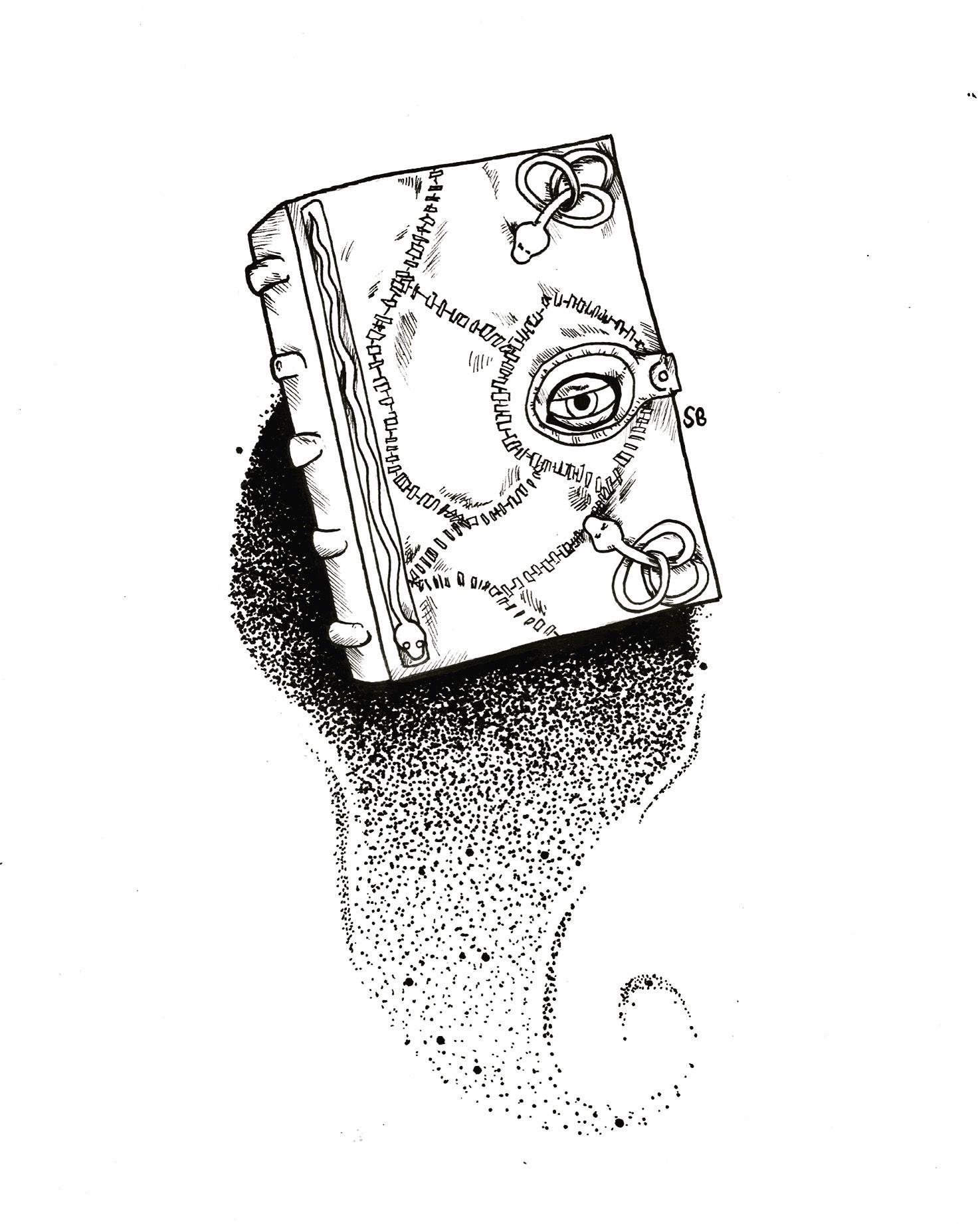 Hocus Pocus Spell Book Book Tattoo Hocus Pocus Spell Book Pen Drawing
