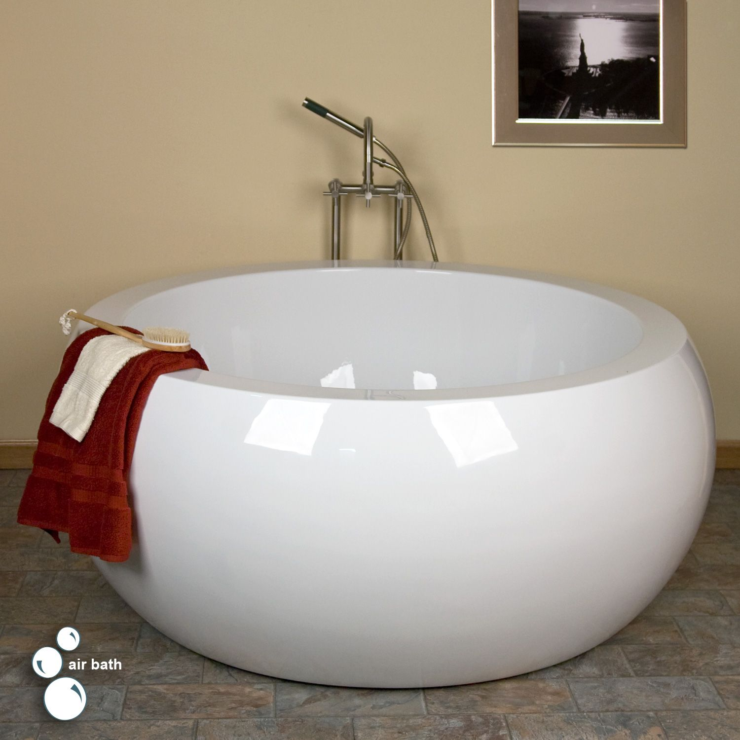 What is the best way to install a circle tub where a larger one used ...