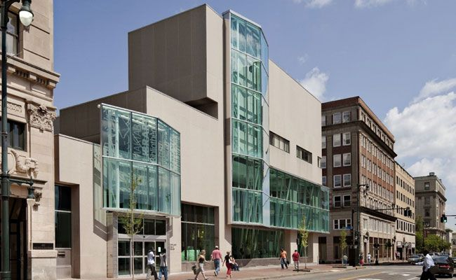 Portland Public Library by Scott Simons Architects