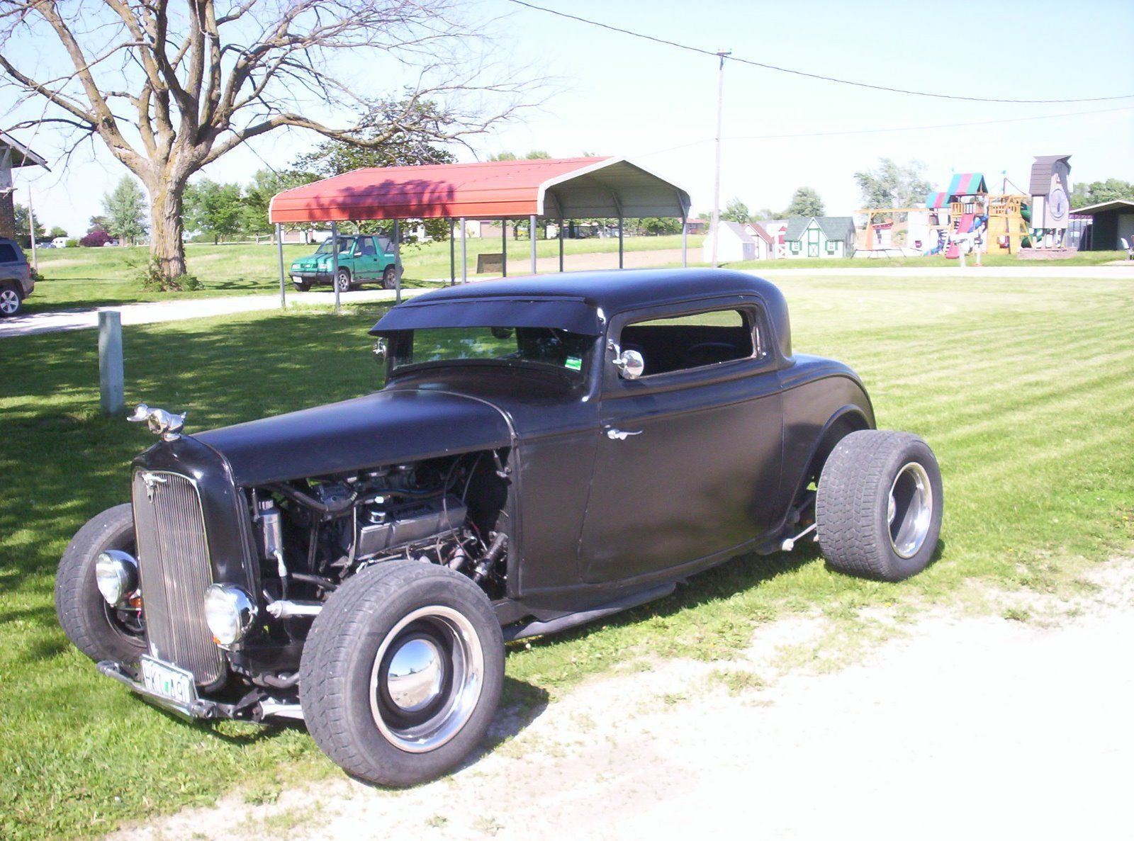 Black beast 1932 Ford coupe hot rod | Hot rods for sale | Pinterest ...