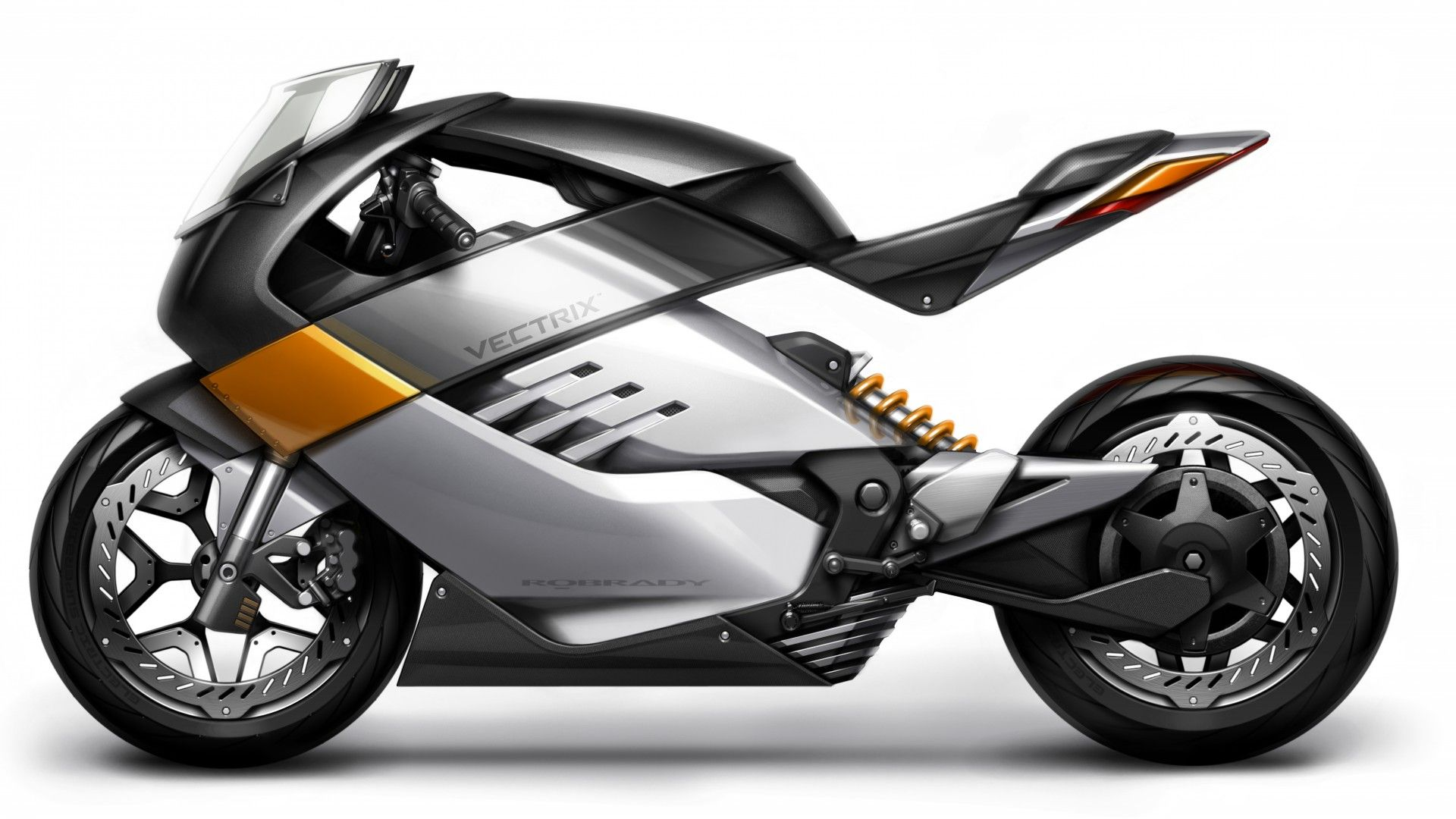 Vectrix, concept, electric motorcycle, superbike, ecosafe, review, side, test drive
