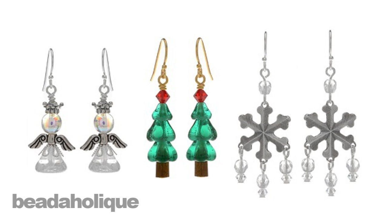 Instructions for Making the Classic Christmas Earring Set Kit