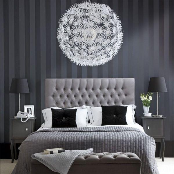15 Moderne Schlafzimmer Designs In Der Schwarz Weissen Farbpalette