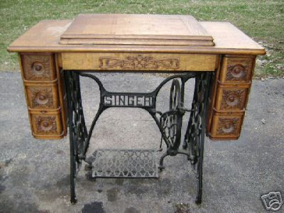 Appraisal Of Antique Singer Sewing Machine Singer Sewing Machine Table Sewing Machine Tables Antique Sewing Machines