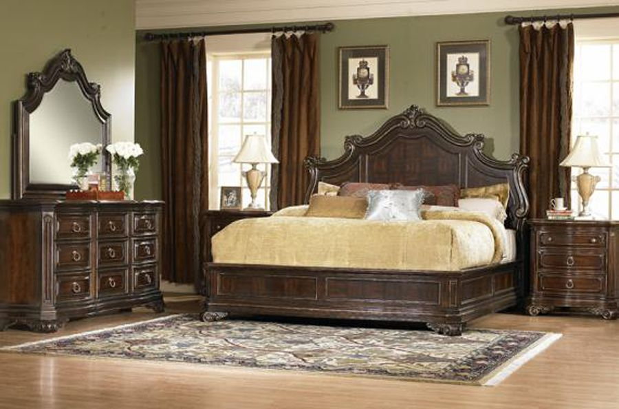 Unique Wooden Beds | Classic Unique Wood Bed Design For Bedroom Interior By  A.R.T Furniture . R